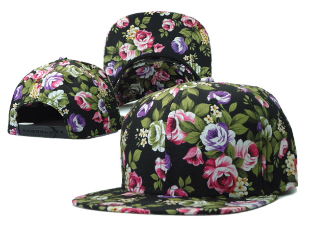 Floral Blank Snapbacks Hat SF5